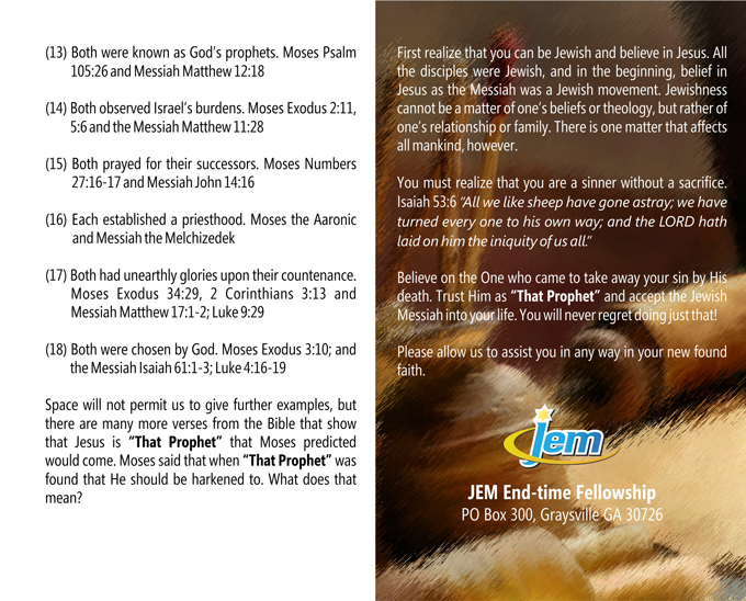 Free-Tracts – Jewish End-Time Ministries